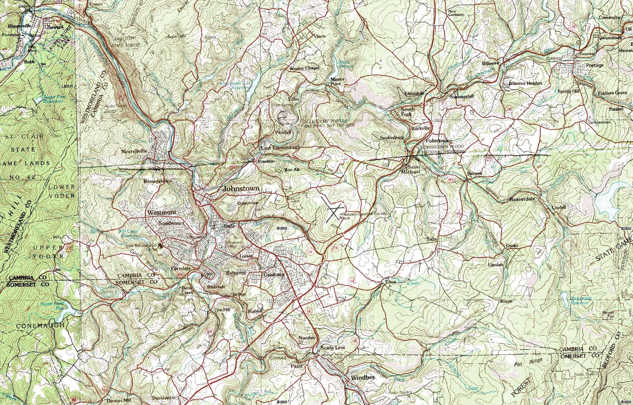us geological survey topographic map
