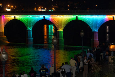 Photo of the Stone Bridge Lighting Ceremony 09-24-11