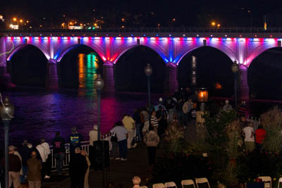 Stone Bridge Lighting Ceremony